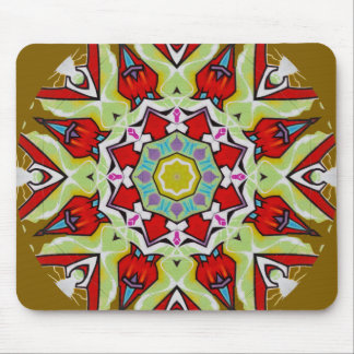 Urban Art 2 (Taupe) Mouse Pad