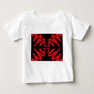 Urban Art Red Neon Arrows Modern Home Decor Baby T-Shirt