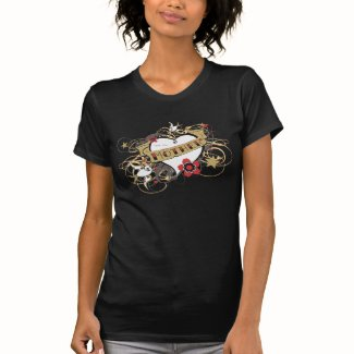 Urban Artistic Mother Illustrated Crowned Heart Tshirt