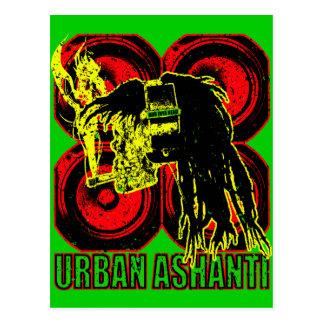 URBAN ASHANTI POSTCARD