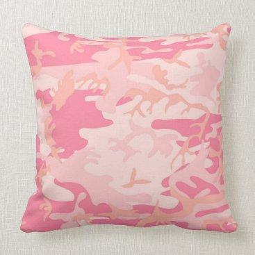Urban Baby Pink Camo Pillow