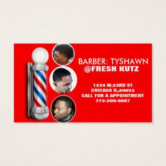 URBAN BARBER SHOP BUSINESS CARDS