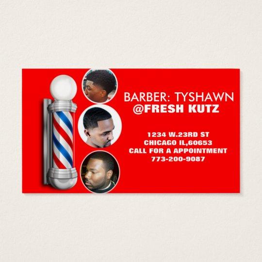 Urban barber shop business cards zazzle urban barber shop business cards colourmoves