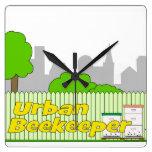 Urban Beekeeper - Clock