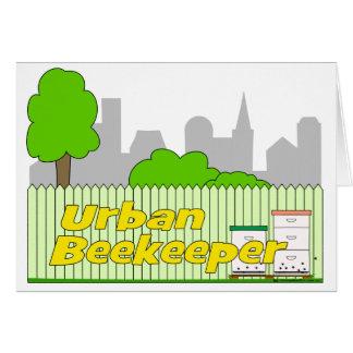 Urban Beekeeper - Greeting Card