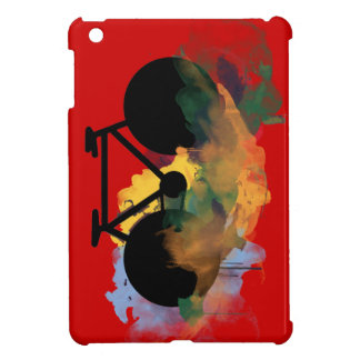 urban bicycle art graphic illustration cover for the iPad mini