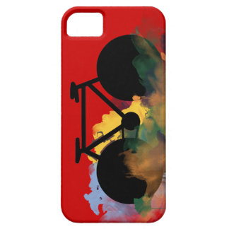 urban bicycle art graphic illustration iPhone SE/5/5s case