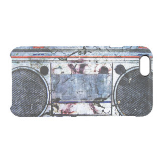 Urban boombox clear iPhone 6/6S case