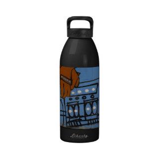 Urban Boombox Design Water Bottle 32 oz.