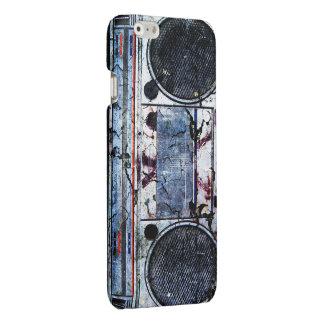 Urban boombox glossy iPhone 6 case