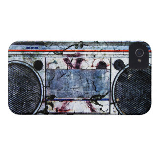 Urban boombox iPhone 4 case