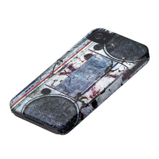 Urban boombox iPhone 4 cover