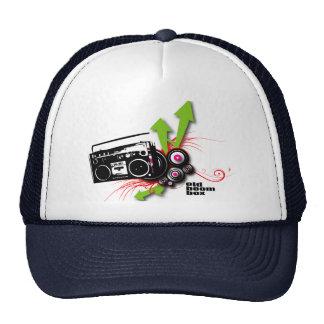 urban_boombox trucker hat