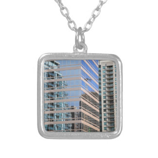 Urban Buildings Design Personalized Necklace