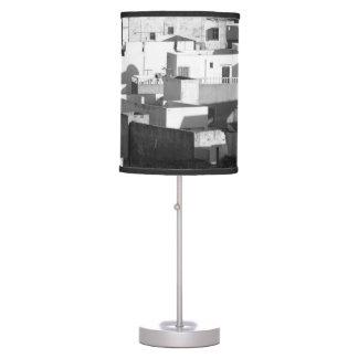 Urban Buildings Table Lamp