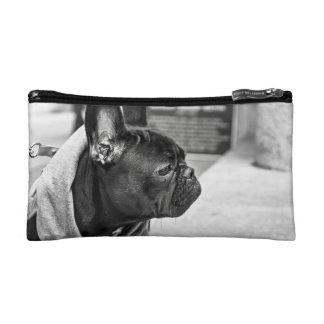 Urban bulldog cosmetic bag