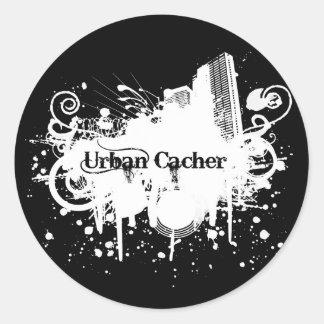 Urban Cacher Classic Round Sticker