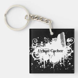 Urban Cacher Geocaching Keychain