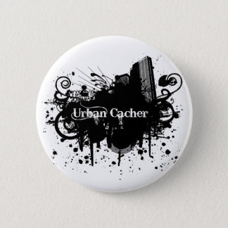 Urban Cacher Pinback Button