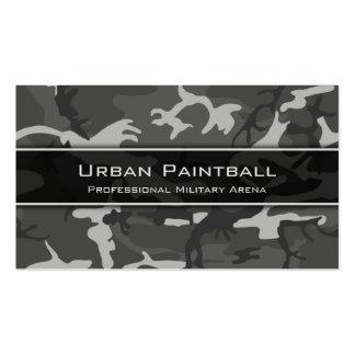 Urban Camo, Camouflage - Business Card