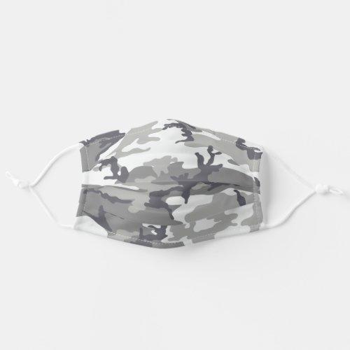 Urban Camo Pattern Cloth Face Mask