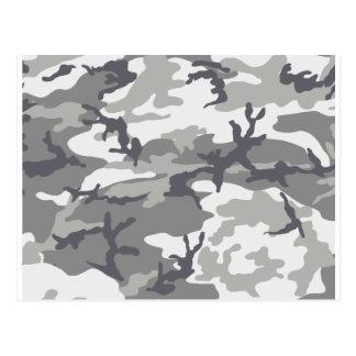 Urban Camouflage Design Post Card