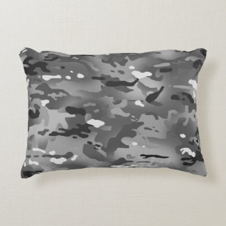 Urban Camouflage I Accent Pillow