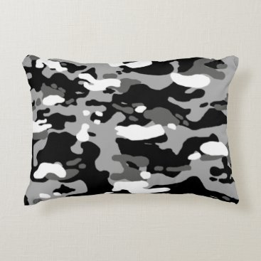 Urban Camouflage III Accent Pillow