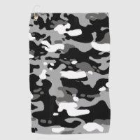 Urban Camouflage III Golf Towel