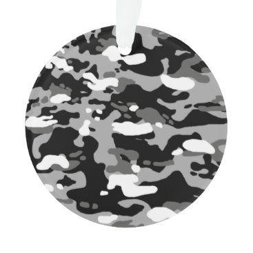 Urban Camouflage III Ornament