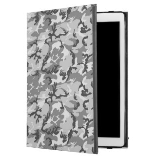 "Urban Camouflage Pattern - Black & Grey iPad Pro 12.9"" Case"