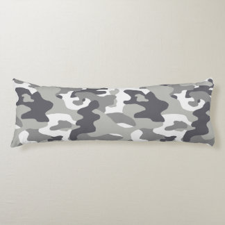 Urban Camouflage Pattern Body Pillow