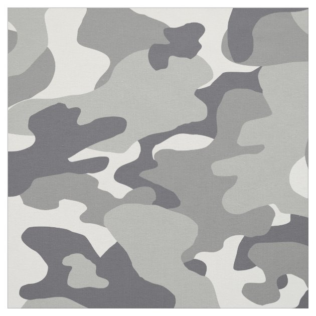 Urban Camouflage Pattern Fabric | Zazzle.com