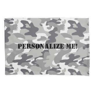 Urban Camouflage Pattern Pillow Case