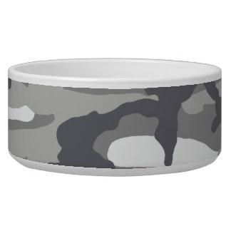 Urban Camouflage Pet Bowl