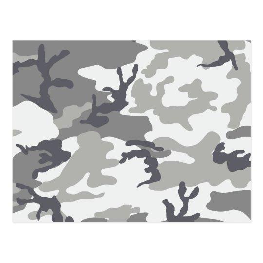 Urban Camouflage Postcard