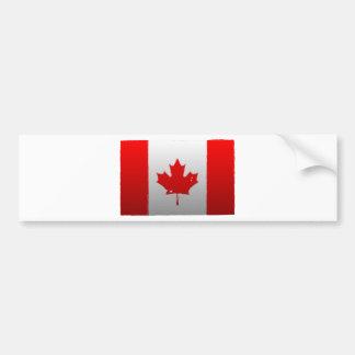Urban Canada Flag Bumper Sticker