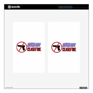 Urban Ceasefire Decal For Kindle Fire