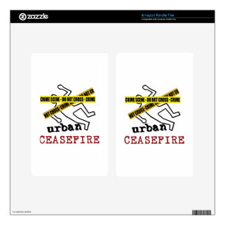 Urban Ceasefire Decals For Kindle Fire