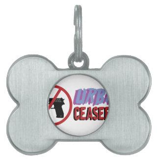 Urban Ceasefire Pet Name Tag