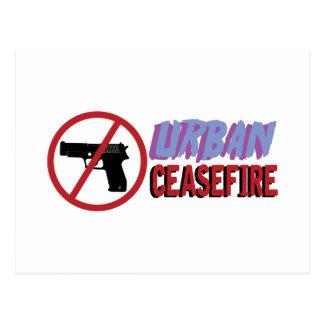 Urban Ceasefire Postcard