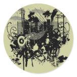 Urban Chaos Classic Round Sticker