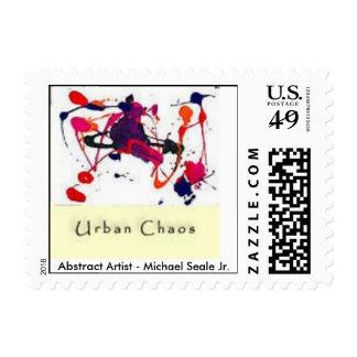 """Urban Chaos-Stamp"" Stamp"