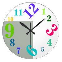 Urban Chic Art Design  Wall Clock