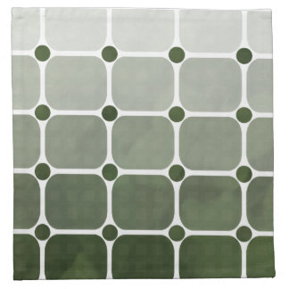 Urban Chic Cloth Napkins - Forest Green
