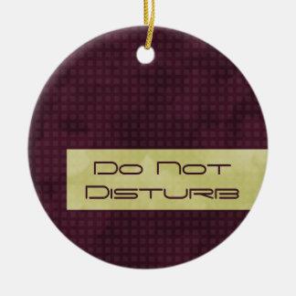 Urban Chic Do Not Disturb Ornament