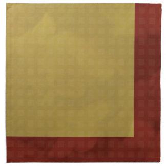 Urban Chic Fabric Napkins - Gold