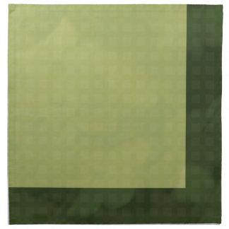 Urban Chic Fabric Napkins - Green
