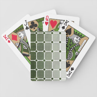 Urban Chic Gradient Playing Cards - Forest Green