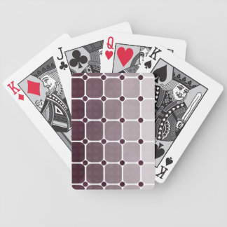 Urban Chic Gradient Playing Cards - Plum